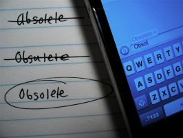 newspapers becoming obsolete As we look forward to 2011, huffposttech has taken a look back at the things that have become obsolete  you're out: 20 things that became obsolete this decade (photos).