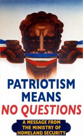 The difference between Patriotism and Nationalism
