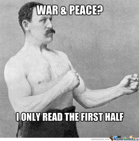 "A teenager's guide to ""War and Peace"""