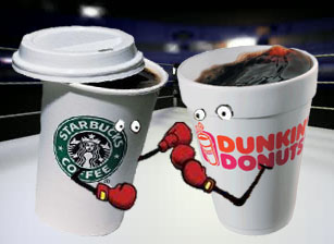 Battle of the Brews: Starbucks vs. Dunkin