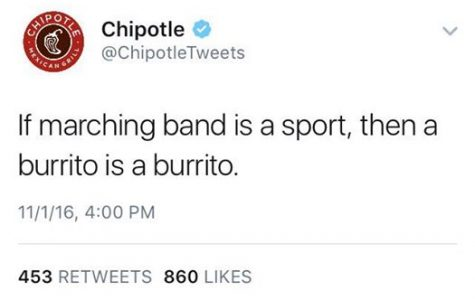 Chipotle Mexican Grill supports the marching arts