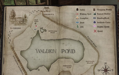 Walden Pond in a new medium
