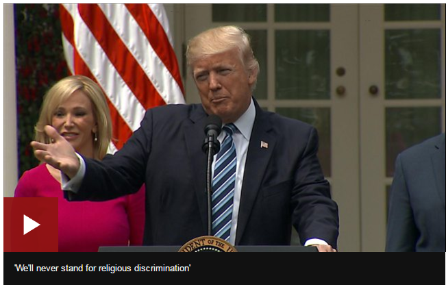 Trump%27s+order+will+lessen+restrictions+against+churches+that+support+political+candidates.