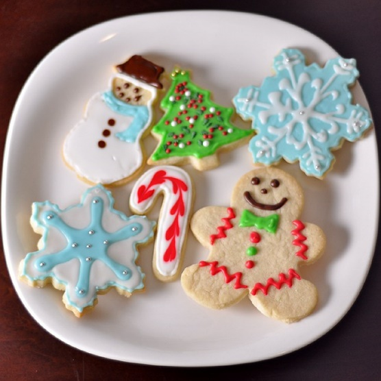 The modern sugar cookie can actually be traced back  to the mid-1700s in Nazareth, Pennsylvania.