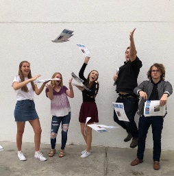 It's always a good time in newspaper!