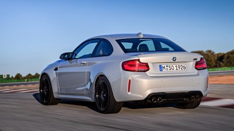 BMW unveils the M2 Competition for 2018