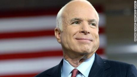 Senator John McCain dies at age 81 (Photo provided by CNN).