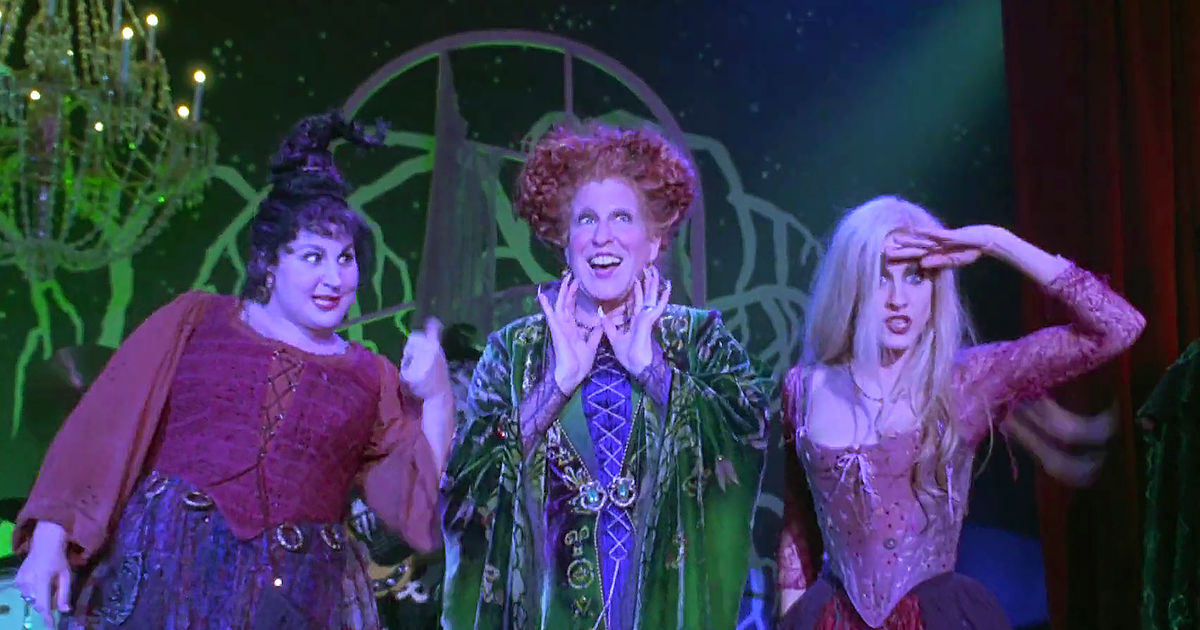 Name a more iconic trio than the Sanderson sisters…I'll wait.