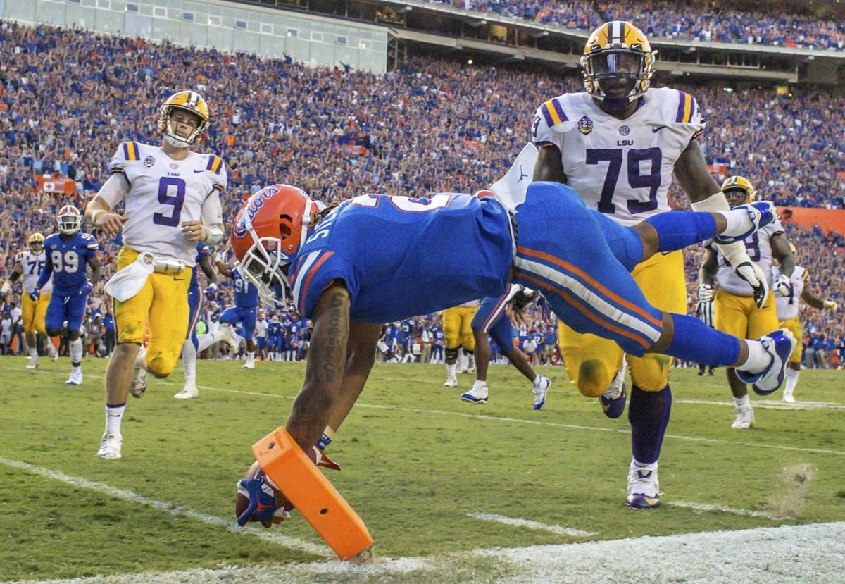 Caption: Florida beat LSU in one of the most important SEC matchups of the season so far.