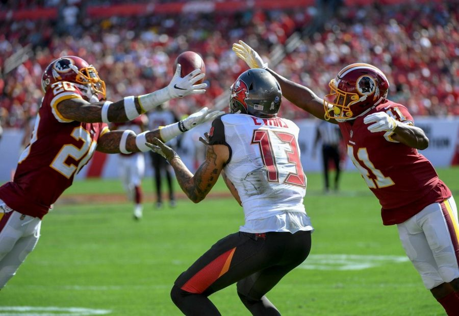 The Redskins took advantage of an inept Bucs team despite being the lesser talented squad.