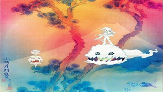 The Kids See Ghosts album cover