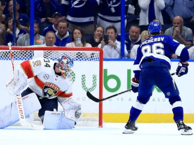 The Lightning opened their season with a 2-1 shootout win over the Florida Panthers.