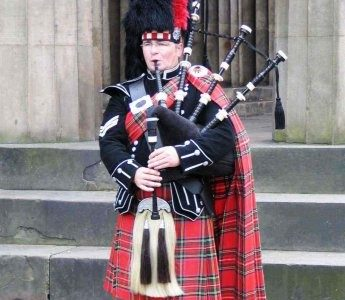 Bagpipes are an unfortunate staple of Scottish music that for some are enjoyable to listen to Picture provided by cashboxcanada.ca