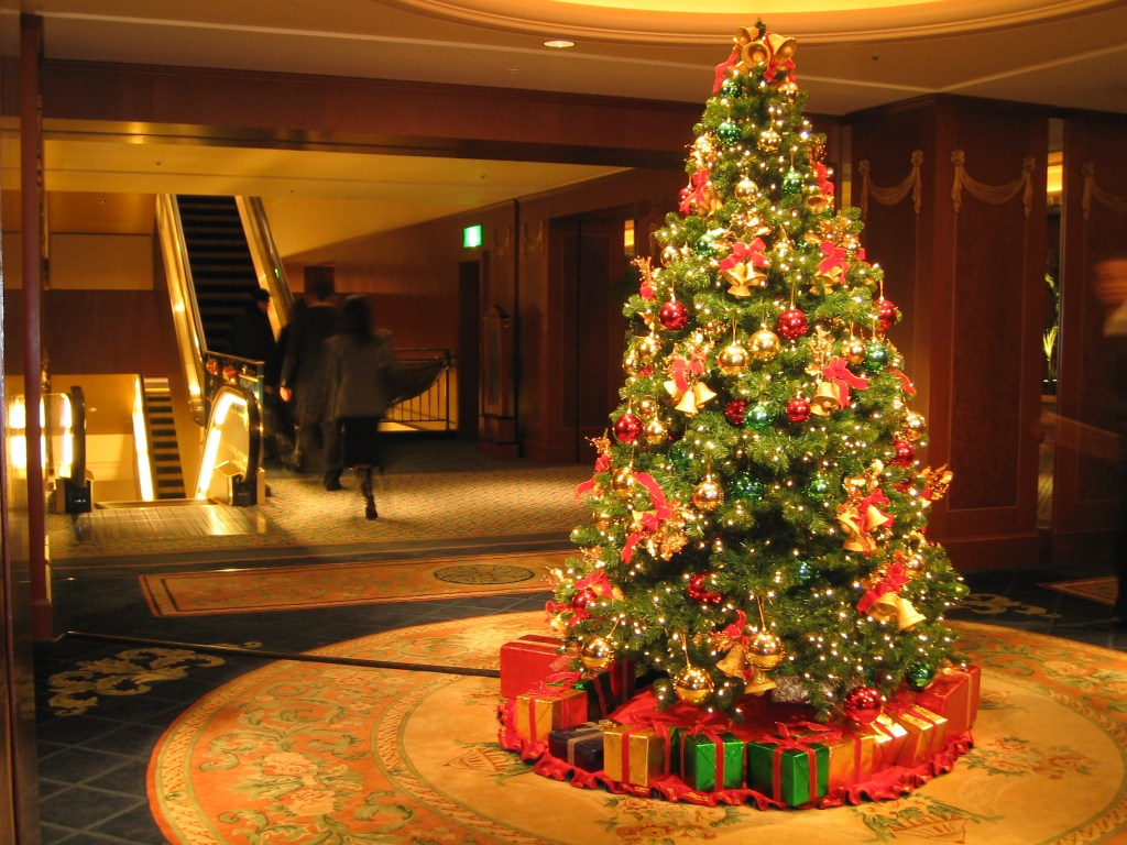 With just a week until Christmas, the halls are decked.