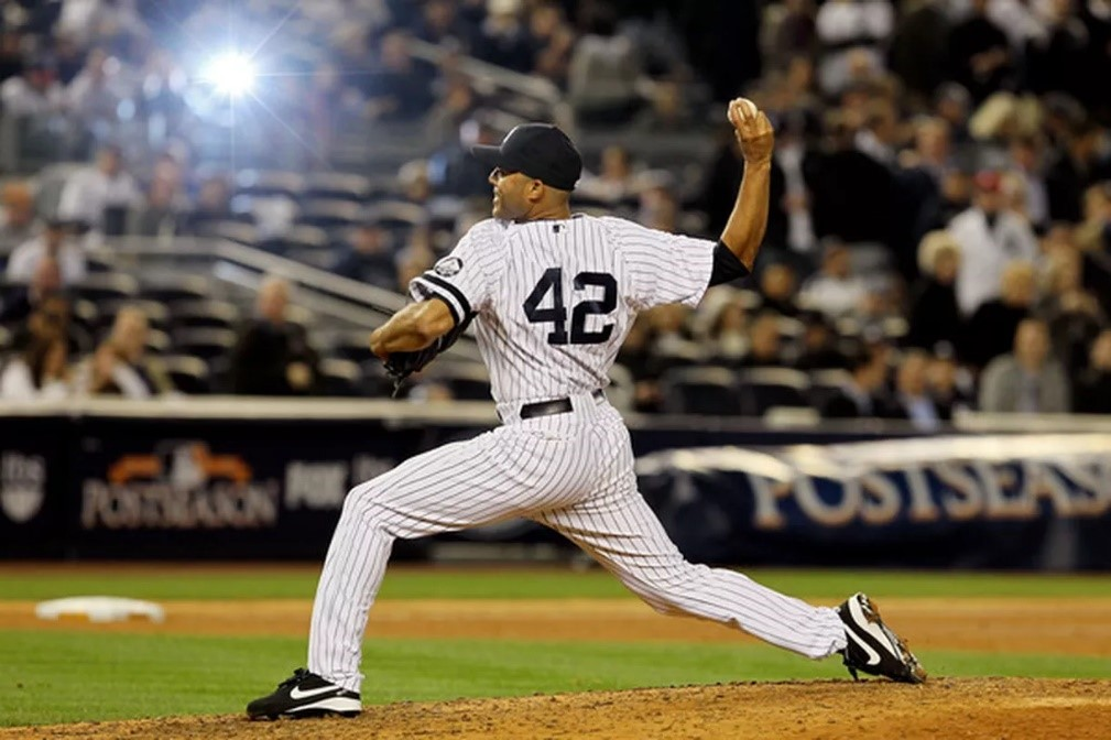 Newly elected Hall of Famer Mariano Rivera was the last player ever allowed to wear number 42.