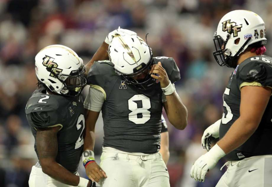 UCF's backup QB, Darriel Mack Jr., wasn't up to the task against LSU.