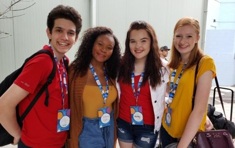 These are a few of my friends that I had to step on to make my way to the top of each scene! To my left Anyea, Bailey, and Olivia! Photo Credits: Bailey's Mom