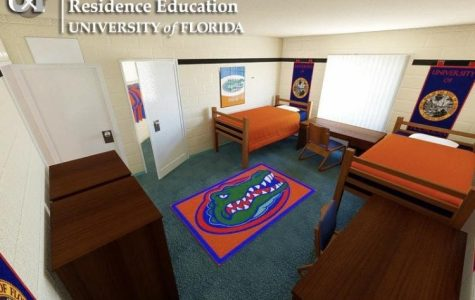 Dorms at the University of Florida