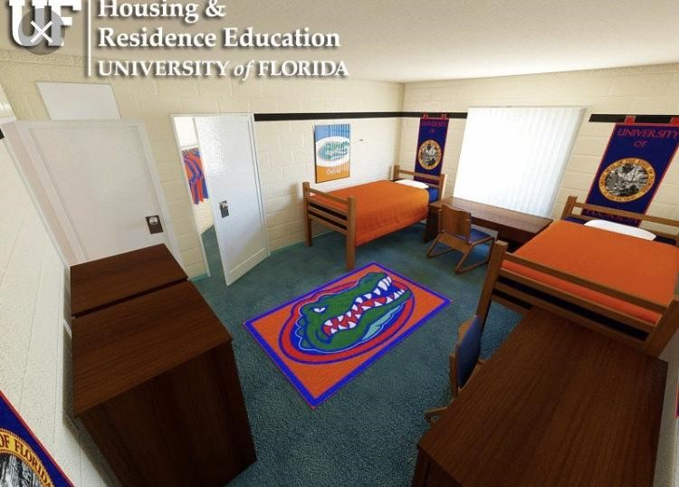 Pictured+here+is+one+of+UF%E2%80%99s+suite+style+dorm+from+the+Spring+Complex%2C+it+is+one+of+the+nicer+looking+rooms