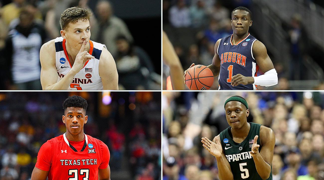 Virginia, Auburn, Texas Tech, and Michigan State are the only teams who have survived March Madness thus far.