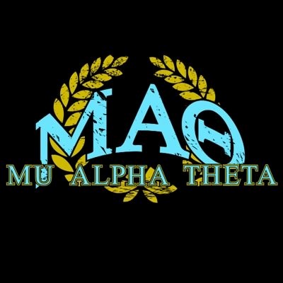 Nothing like waking up in the morning and putting on the letters of my brethren. Photo from Mu Alpha Theta Twitter page