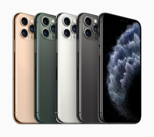 The image above shows what is a brick, oh wait, no that's the new iPhone 11 Pro. photo provided by apple.com
