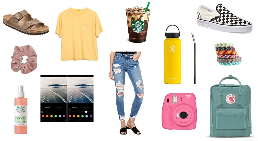 If you flaunt several of these items, you are in danger of being a VSCO girl.
