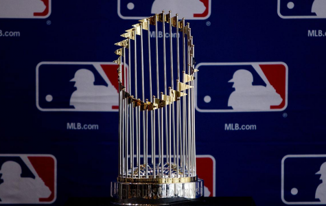 This shiny Commissioner's Trophy awaits the team that survives the gauntlet of the 2019 Postseason.