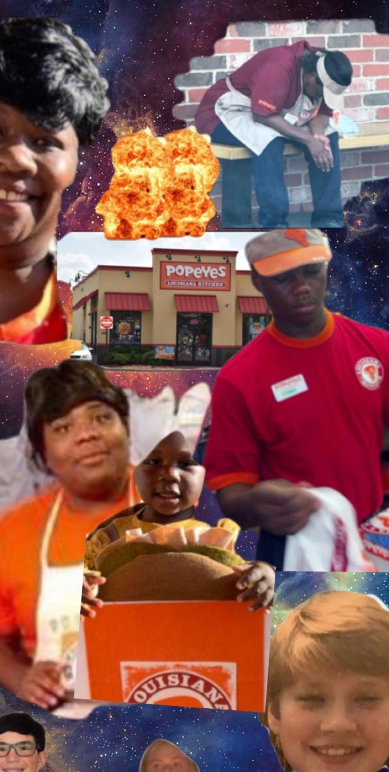 The astronauts will be forever grateful for the awesomeness that is the Popeye's empire of chicken.