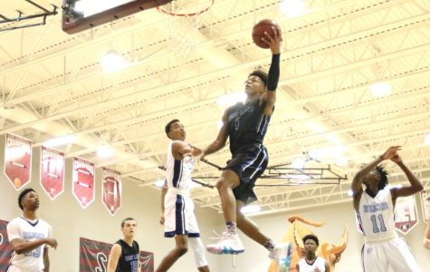 Dionte Blanch takes flight.
