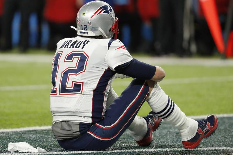 Tom Brady's uncertain future is one of many questions facing the Patriots this offseason.