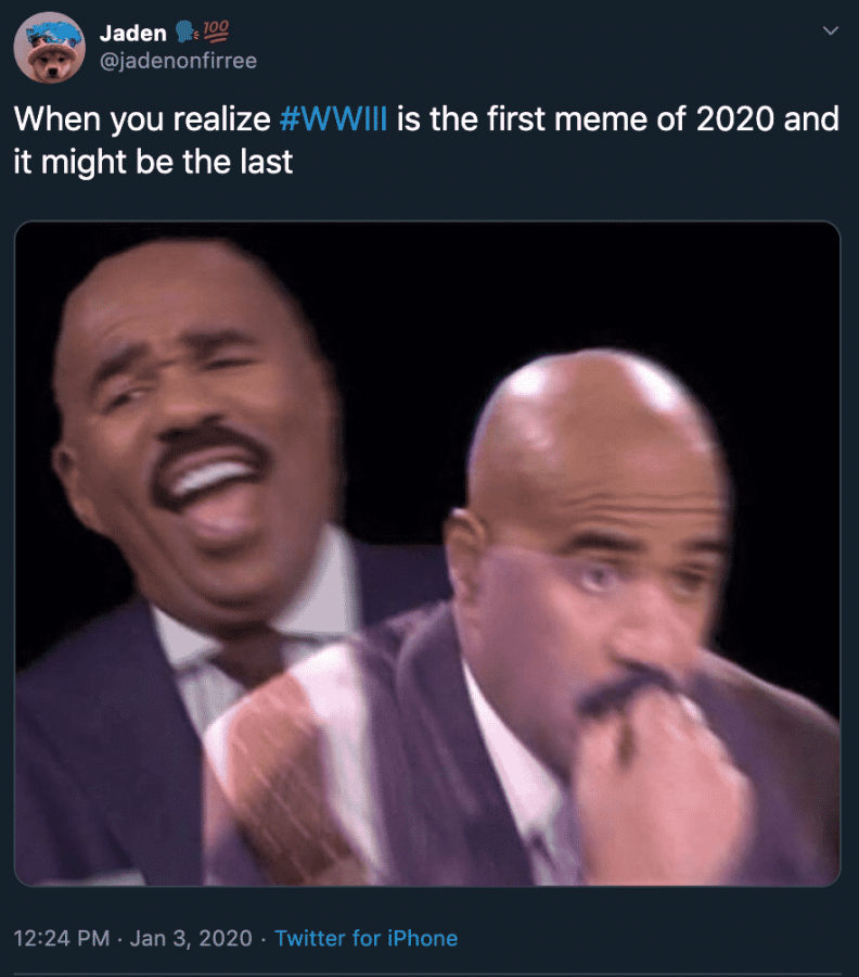 Caption: The first (and possibly last??) meme of 2020