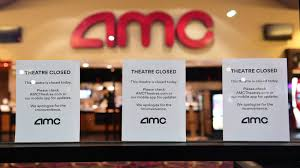 """We now expect that on Wednesday July 15, AMC will open approximately 450 theatre locations around the country (representing more than 90% of moviegoing at AMC)"" -AMC Theatre"