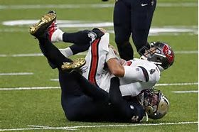 Tom Brady had 2 interceptions in his first game with the Bucs against the Saints