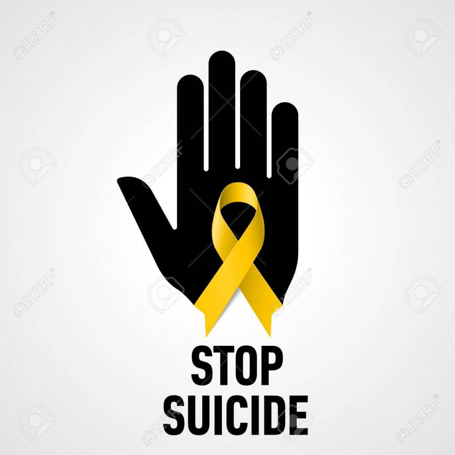 The+yellow+ribbon+that+people+wear+represents+suicide+awareness.