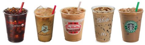 Which restaurant has the iced coffee I would spend my money on?