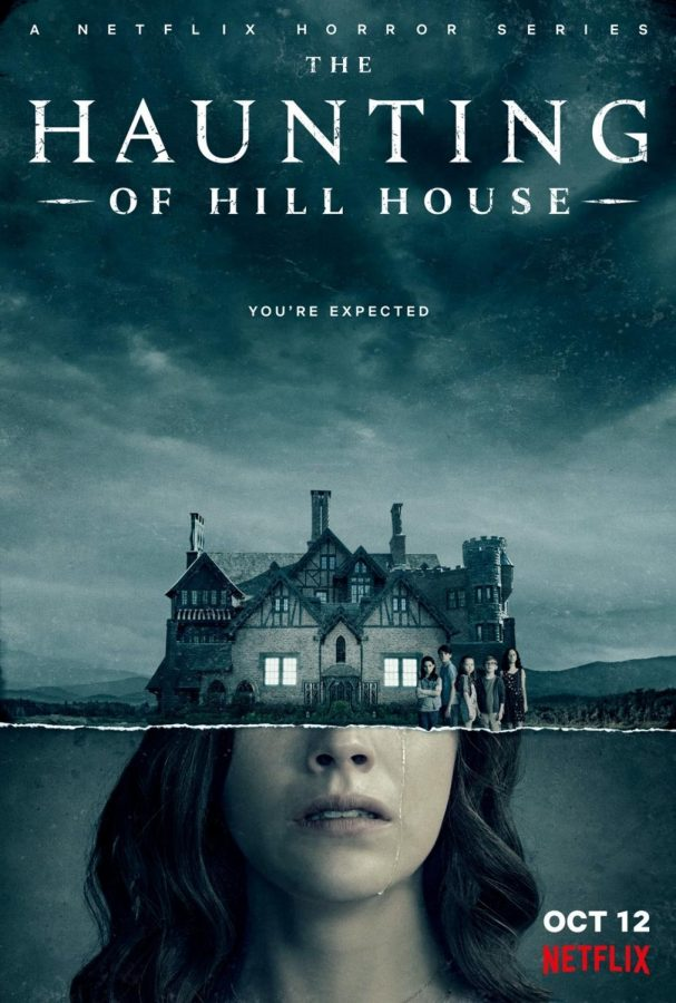 The+sinister+background+and+seemingly+alive+house+are+shown+in+this+Netflix+preview.