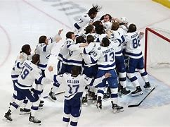The Lightning win their first Stanley Cup in 16 years.