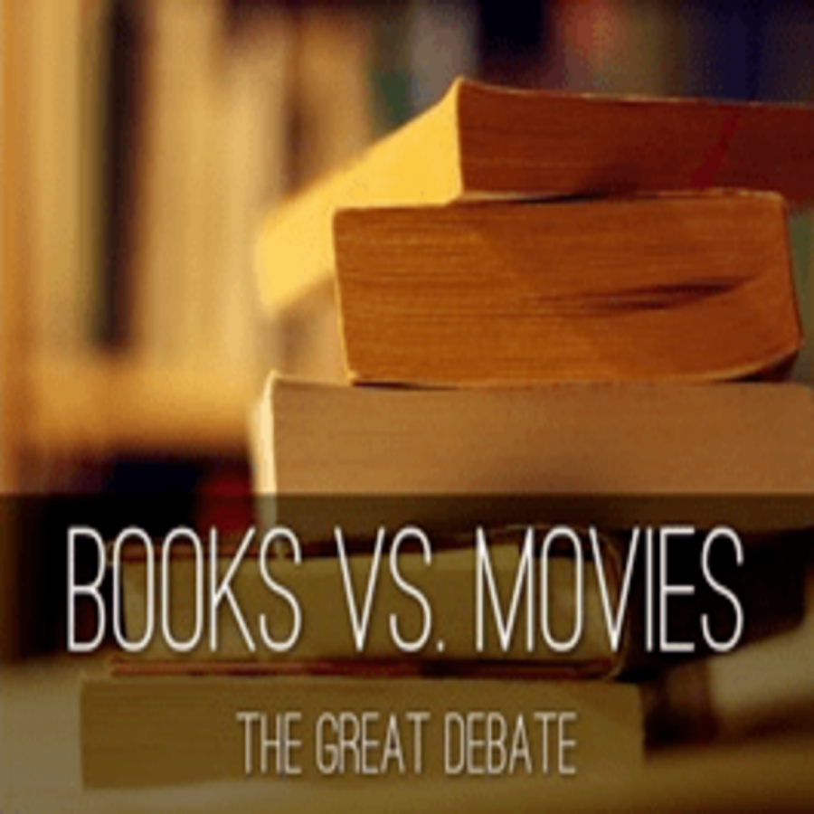 "The great debacle of books vs movies. Many people would prefer movies but books are what actually makes the movies amazing. As the American novelist Daniel Woodrell once said, ""I'm not from the movie world. I'm from the book world."""