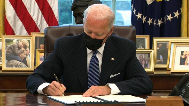 President Biden has signed 33 executive orders in the matter of six days, and he has shown no signs of slowing down any time soon.