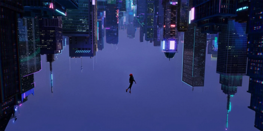 A leap of faith is shown by the awesome Miles Morales also known as Spiderman in the movie Spiderman Into the Spider Verse. He finally decides to take the ultimate risk and jumps out of a building showing his maturity and readiness to take on the world. Note taking a leap of faith isn't jumping out of a building but trying something completely new to you.