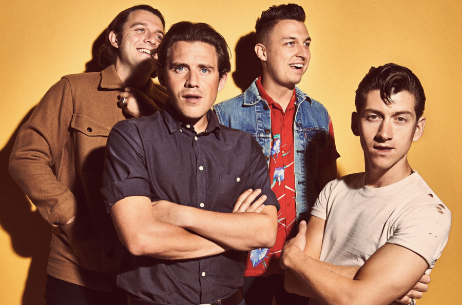 Picture of the former band which consists of Alex Turner, Jamie Cook. Nick O'Malley, and Matt Helders. Together they form Artic Monkeys!