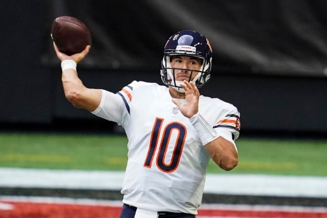 In case you weren't aware, we let Mitch Trubisky throw for six touchdowns.