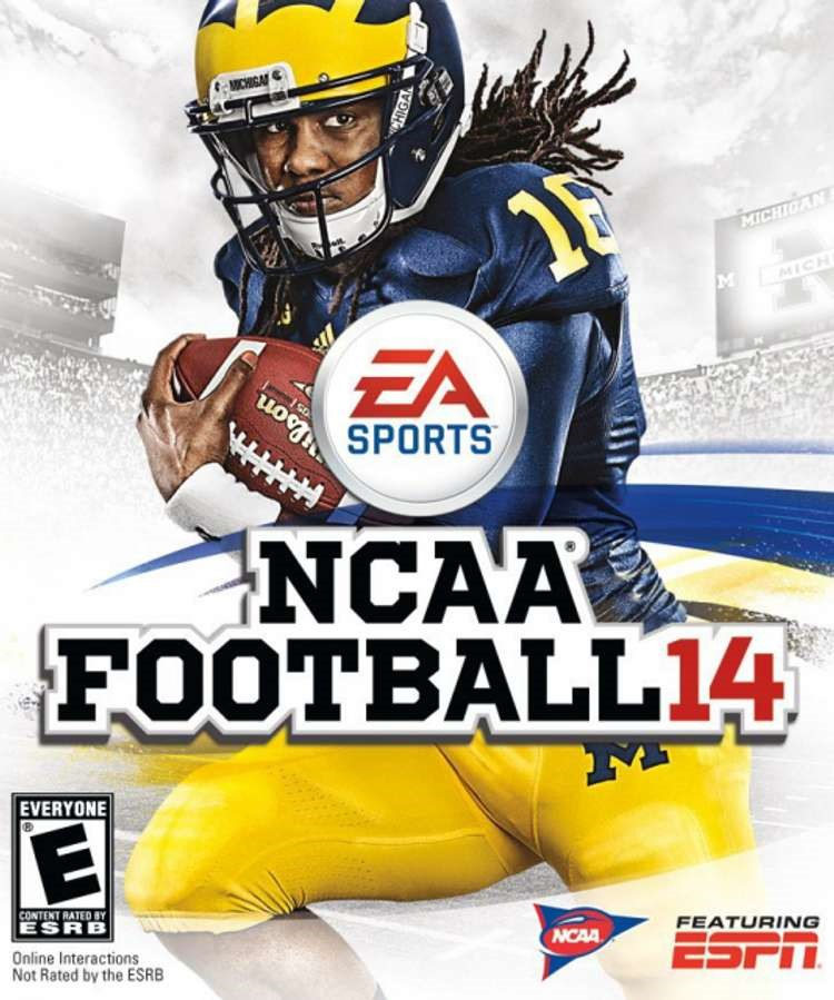The last version of the game followed the 2014 season and featured Michigan running back Denard Robinson.