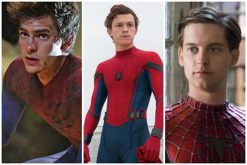 The+3+most+known+Spidermen.+Andrew+Garfield%2C+Tom+Holland+and+Tobey+Maguire+all+portrayed+Peter+Parker+and+his+alter+ego+Spider-Man+at+different+times+and+each+did+good+in+specific+areas.+Regardless+of+what+the+played+best+they+all+did+very+good+acting+out+the+loved+character.+