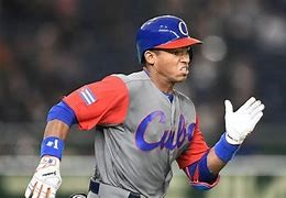 Yoelqui Cespedes who is from Cuba is the 1st ranked prospect internationally.