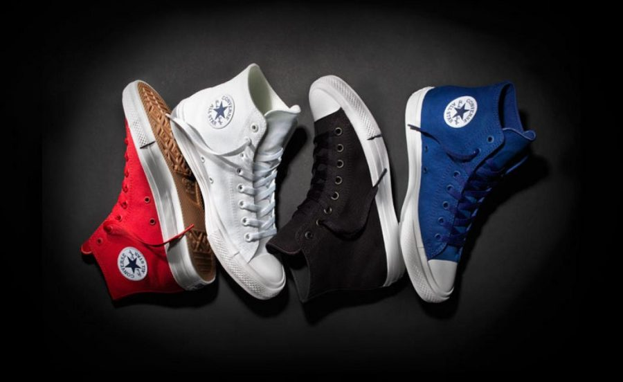 Very cool style of the Converse All Star sneakers. Showing the different colors and simple design that makes them the shoe of the century. The one shoe that can be used for many activities.