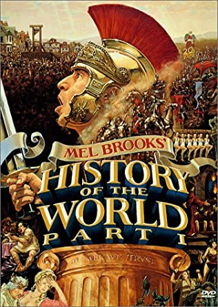 The cover shows a glimpse into all the major different places that are visited throughout the movie.
